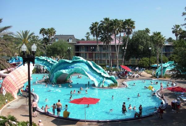 Disney Port Orleans French Quarter Pool Jpg