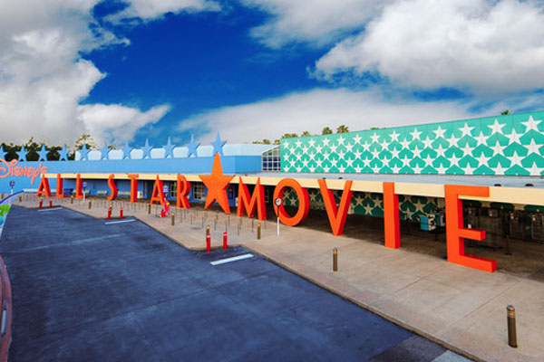 Disney All Star Movies Resort Entrance and Bus Terminal 600