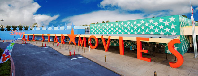 Disney All Star Movies Resort Entrance and Bus Terminal 640 wide