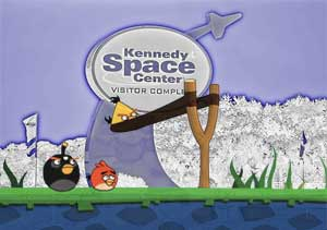 Kennedy Space Center to be invaded by Angry Birds