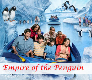 SeaWorld New Ride Antarctica Empire of the Penguin Opening May 24, 2013