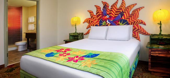 Disney World Art of Animation Lion King Suite Themed Bedroom