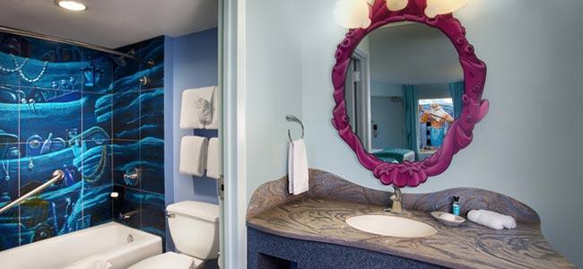 Disney World Art Of Animation Little Mermaid Themed Bathroom