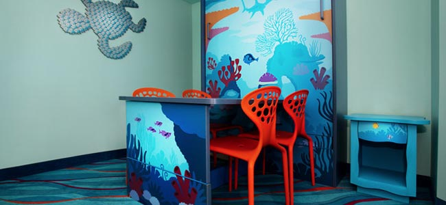 Disney World Art of Animation Nemo Suite Dining Table