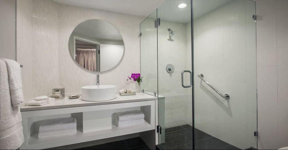 Bath with Stand Up Shower B Resort Orlando 960