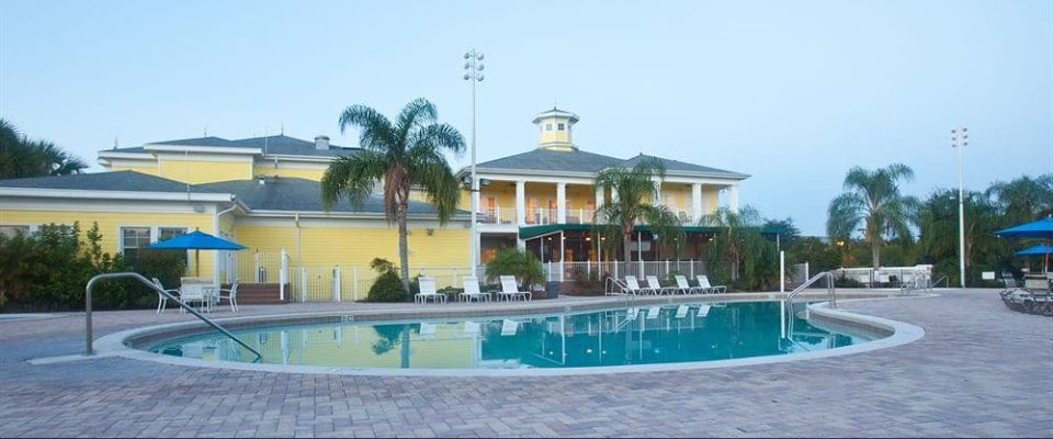 View of the Bahama Bay Resort Clubhouse from the Main Pool 960