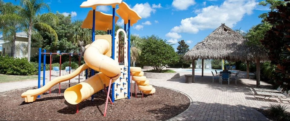 View of the Kids Playground at the Bahama Bay Resort in Orlando
