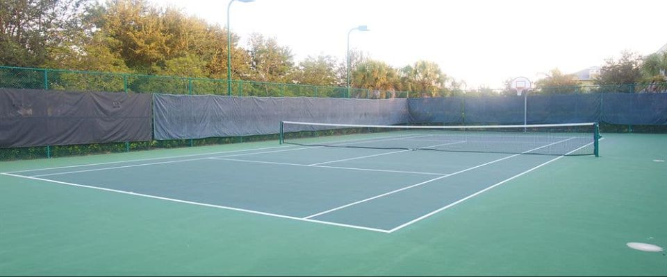 View of the Tennis Court at the Bahama Bay Resort in Orlando