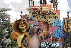 Madagascar Live! Invading Busch Gardens Tampa
