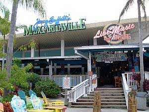 Entry way from City Walk at Universal Studios to Mararitaville