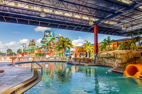 Pool At Coco Key Water Resort Orlando Water Park Hotels