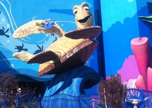 View of Crush the Giant Sea Turtle at Art of Animation Resort