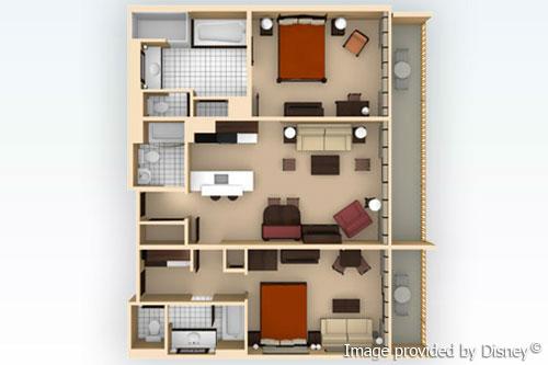 Disney animal kingdom villas kidani village vacation - 2 bedroom villa animal kingdom kidani ...