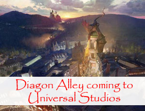 Universal Studios announces Diagon Alley and Hogwarts Express underway