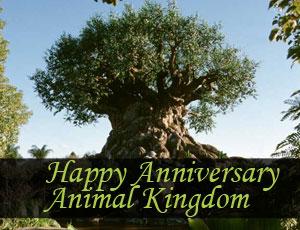 Disney Animal Kingdom in Orlando Florida Turns 15