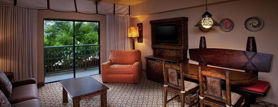 View of a 1 Bedroom Villa at the Disney Animal Kingdom Kidani Village with Balcony 960