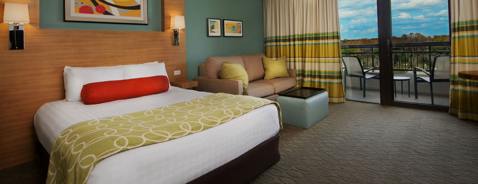 Disney Bay Lake Tower Room with Private Balcony wide
