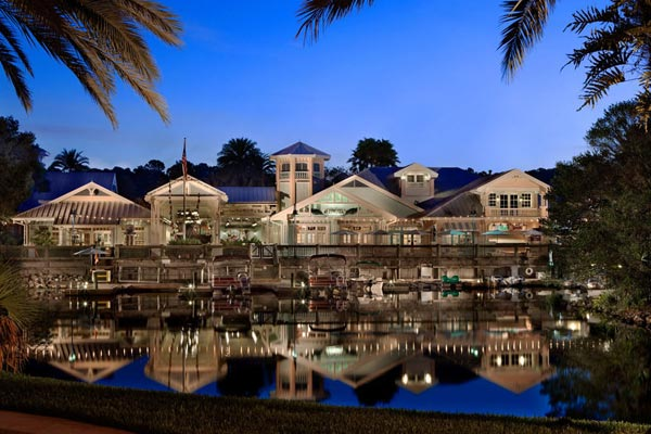 View of the Buildings from the Lake at the Disney Old Key West 600