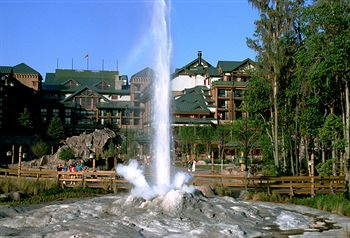 Fire Rock Geyser at the Wilderness Lodge