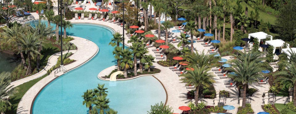 Four Seasons Orlando Lazy River with Zero Entry Access Point 960