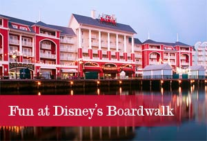 Take the Family on a Fun Free adventure at the Disney Boardwalk