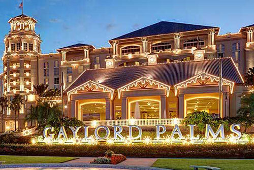 Christmas At Gaylord Palms Orlando Water Park Hotels Orlando