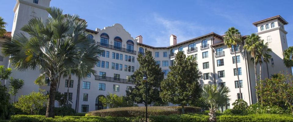 View of the Orlando Hard Rock Hotel at Universal Orlando 960
