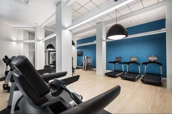 Fitness center at Hilton Orlando Buena Vista Palace