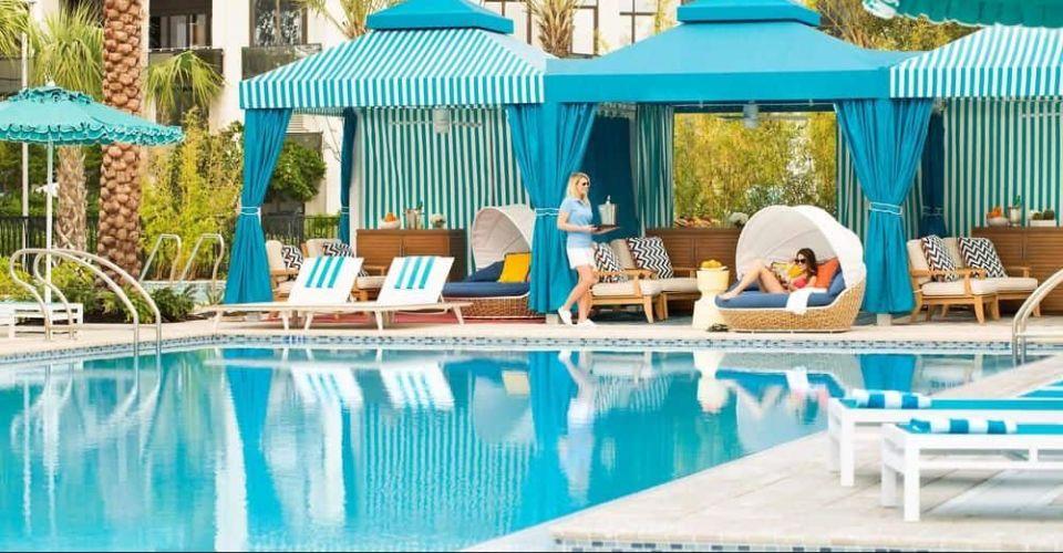Luxury cabanas Hilton Orlando Buena Vista Palace 600