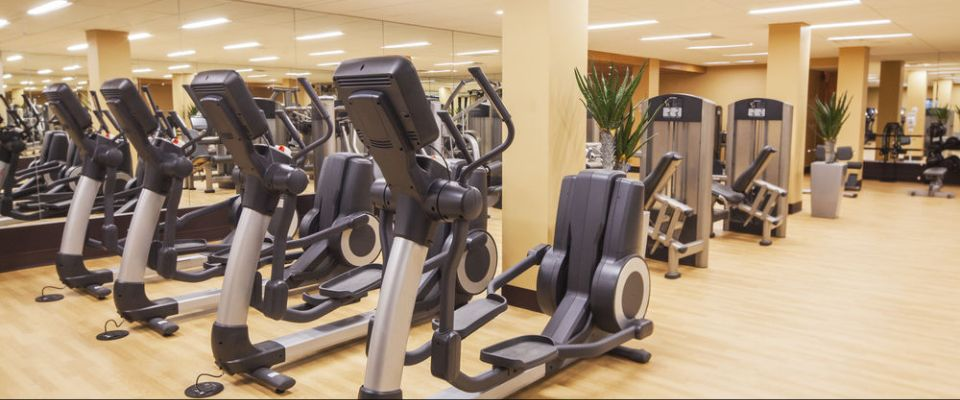 View of Treadmills, Elliptical, Free Weights in the Fitness Center at Hyatt Regency Grand Cypress Orlando