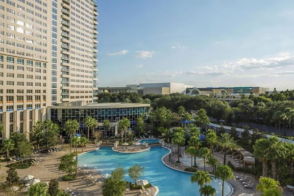Hyatt Regency Orlando Convention Center Pools Heated International Drive