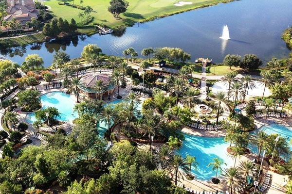 Jw Marriott Orlando Grande Lakes Pool