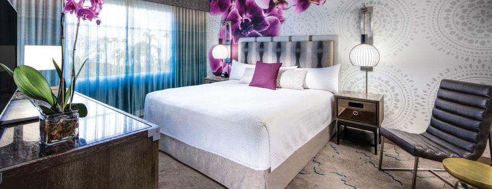 King room at the Loews Royal Pacific Resort wide