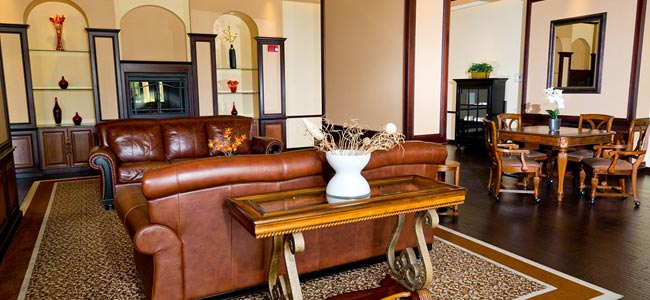 Take a seat and enjoy your time at the Seating Area in the Lobby Lake Buena Vista Resort Village
