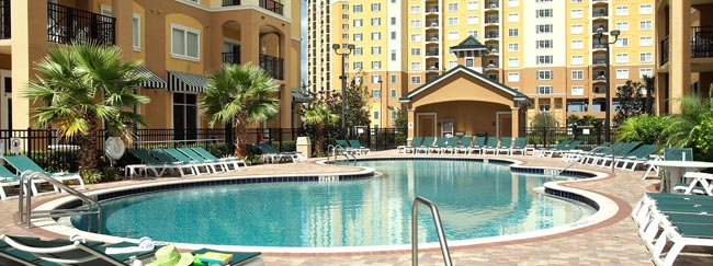 The Quiet Relaxation Pool at Lake Buena Vista Resort Village
