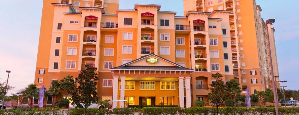 Main Entrance to the Lake Buena Vista Village Hotel 960