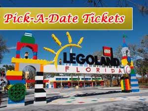 Legoland Pick a Date Ticket Deal