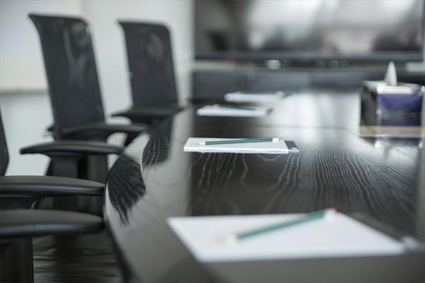 Conference Table Chairs writing pads