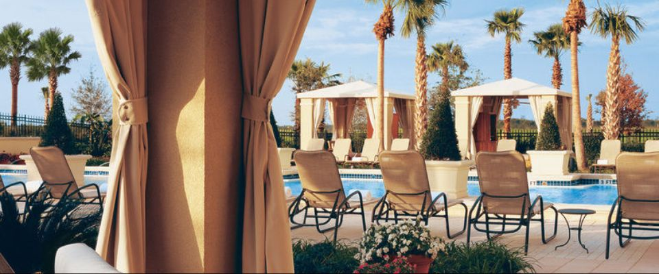 Luxury Cabanas located around the Quiet Pool at the Omni Orlando at Champions Gate 960