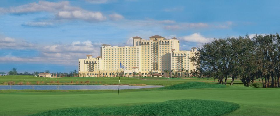 View of the Omni Orlando at ChampionsGate from the Golf Course 960