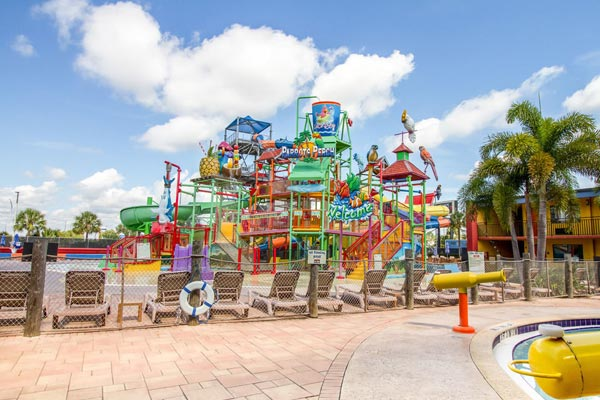 Outdoor Water Park at the Coco Key Resort full of Water Slides and fun 600