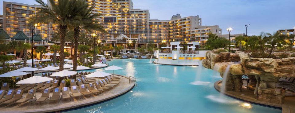 Orlando World Center Marriott Amenities Indoor Pool