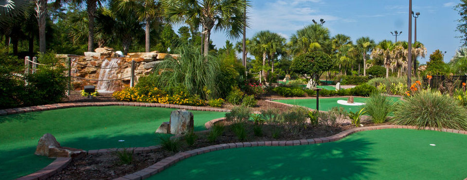 Putt Putt Golf Course at the Holiday Inn Orange Lake Resort in Kissimmee Fl wide