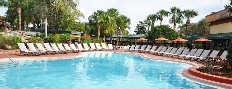 View of the Outdoor Heated Pool at the Radisson Resort in Orlando Fl Celebration 960