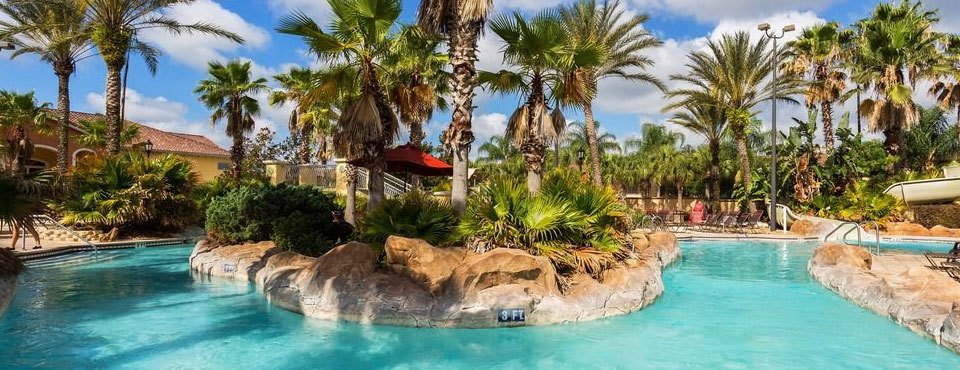 Regal Palms Resort with Lazy River and Water Slide wide