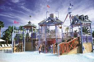View of the Kiddie Splash Park at Wyndham Reunion Resort