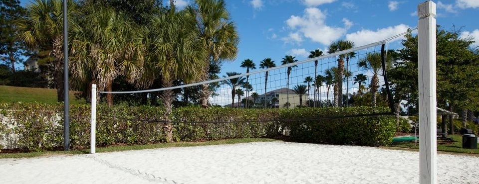 View of the Sand Volleyball Court at the Sheraton Vistana Villages Resort 960