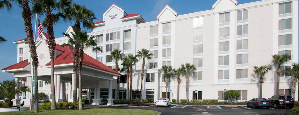 Front Entrance to the Springhill Suites by Marriott in Kissimmee Fl 960