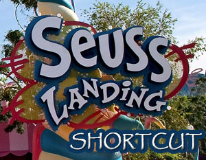 Suess Landing Shortcut through Universl Islands of Adventure in Orlando