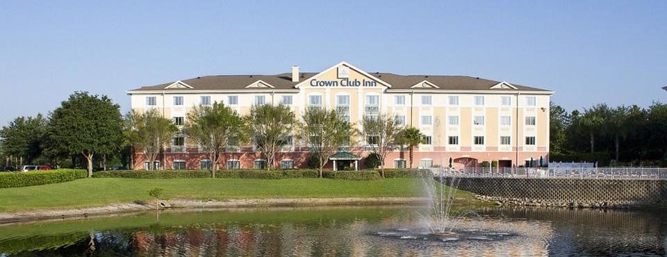 View of the Crown Club Inn part of the Summer Bay Resort in Orlando Florida 960
